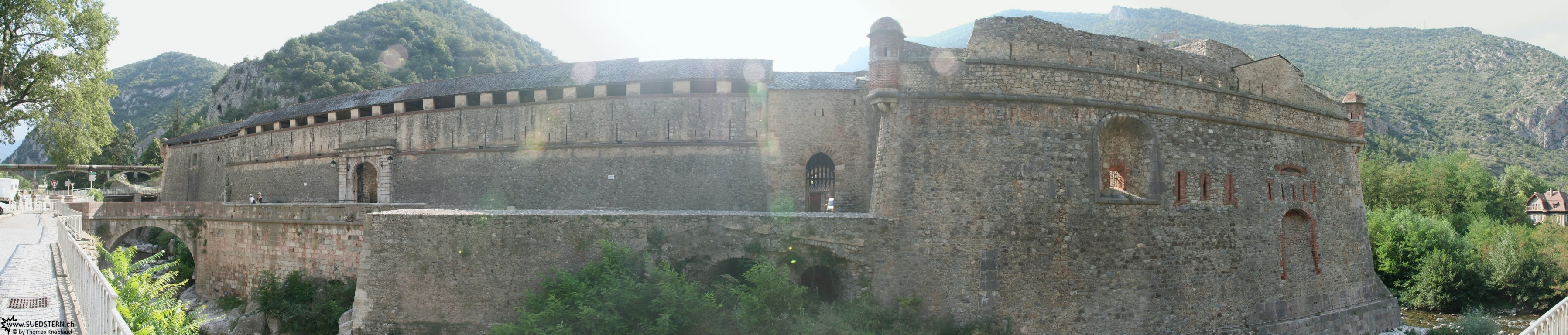 2008-09-01 - city wall of Ville Franche de Conflent, france